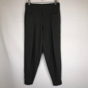 Helmut Lang High Waist Pants Trousers Gray Sz 4